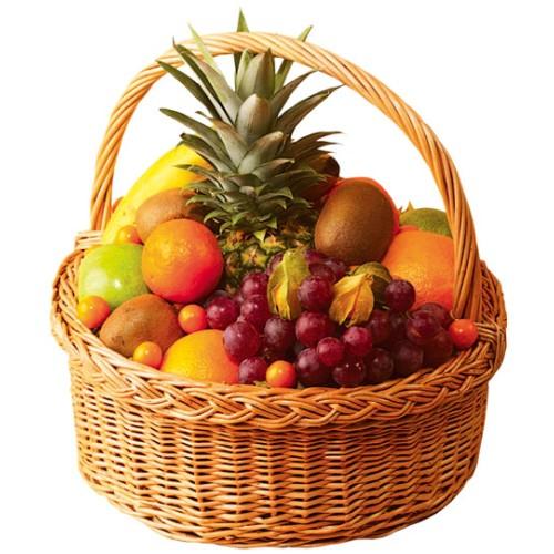 Купить на заказ Заказать Корзина с фруктами 2 с доставкой по Костанаю с доставкой в Костанае