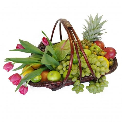 Купить на заказ Заказать Корзина с фруктами 3 с доставкой по Костанаю с доставкой в Костанае