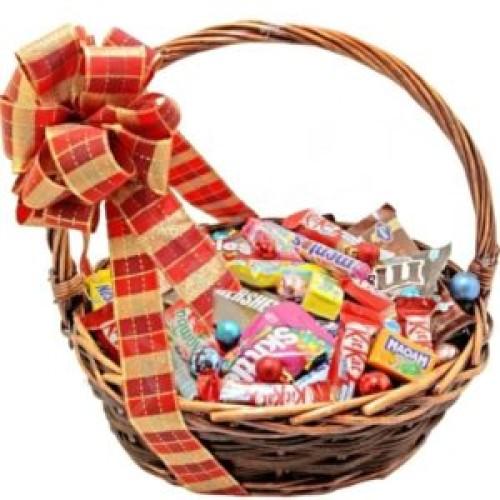 Купить на заказ Заказать Корзина сладостей 1 с доставкой по Костанаю с доставкой в Костанае